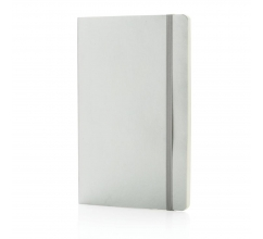 Deluxe metallic softcover notitieboek bedrukken